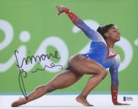 Simone Biles Signed Team USA 8x10 Photo (Beckett COA) at PristineAuction.com