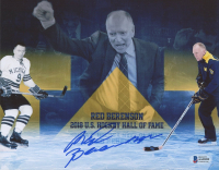 Red Berenson Signed Michigan Wolverines 8x10 Photo (Beckett COA) at PristineAuction.com