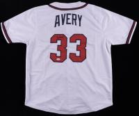 Steve Avery Signed Jersey (JSA COA) (See Description) at PristineAuction.com