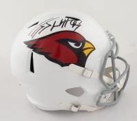 J.J. Watt Signed Cardinals Full-Size Speed Helmet (JSA COA & Watt Hologram) at PristineAuction.com