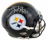 T.J. Watt Signed Steelers Full-Size Authentic On-Field Speed Helmet (Beckett Hologram) at PristineAuction.com