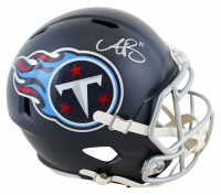 A. J. Brown Signed Titans Full-Size Speed Helmet (Beckett Hologram) at PristineAuction.com