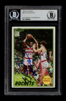 Elvin Hayes Signed 1981-82 Topps #42 (BGS Encapsulated) at PristineAuction.com