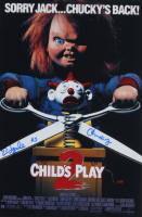 """Ed Gale Signed """"Child's Play"""" 12x18 Photo Inscribed """"Chucky"""" (AutographCOA COA) at PristineAuction.com"""
