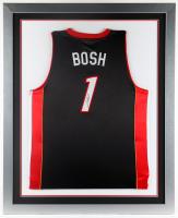 Chris Bosh Signed 35x43 Custom Framed Jersey (JSA Hologram) at PristineAuction.com