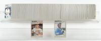 1989 Fleer Complete Set of (660) Baseball Cards with #548 Ken Griffey, Jr. RC, #616B Bill Ripken at PristineAuction.com