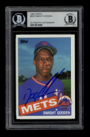 """Dwight """"Doc"""" Gooden Signed 1985 Topps #620 RC (BGS Encapsulated) at PristineAuction.com"""