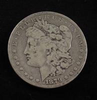 1879 Morgan Silver Dollar at PristineAuction.com
