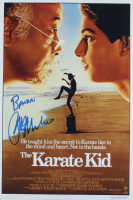 "Ralph Macchio Signed ""The Karate Kid"" 12x18 Photo Inscribed ""Banzai"" (AutographCOA COA) at PristineAuction.com"