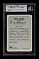 Tony Tucker Signed 1991 All World #125 (BGS Encapsulated) at PristineAuction.com