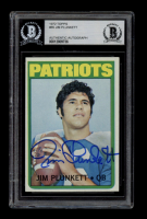 Jim Plunkett Signed 1972 Topps #65 RC (BGS Encapsulated) at PristineAuction.com