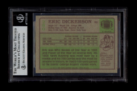 """Eric Dickerson Signed 1984 Topps #280 RC Inscribed """"HOF 99"""" (BGS Encapsulated) at PristineAuction.com"""
