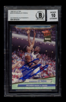 Shaquille O'Neal Signed 1992-93 Ultra #328 RC (BGS Encapsulated) at PristineAuction.com