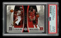Michael Jordan / LeBron James 2005-06 Upper Deck Michael Jordan/LeBron James #MJLJ6 (PSA 10) at PristineAuction.com