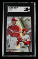 Shohei Ohtani 2018 Topps Gold Label Class 2 #17 RC (SGC 10) at PristineAuction.com