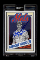 """Dwight """"Doc"""" Gooden Signed 2020 Topps Project 2020 #65 Mister Cartoon (Schwartz Sports COA) at PristineAuction.com"""