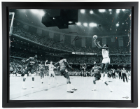 Michael Jordan 35x45 Custom Framed Photo (UDA Hologram) (See Description) at PristineAuction.com