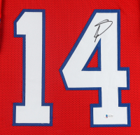 Stefon Diggs Signed 35x43 Custom Framed Jersey Display (Beckett Hologram) at PristineAuction.com