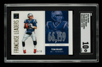 Tom Brady 2018 Panini Franchise Leaders Gold Knight #3 #09/20 (SGC 10) at PristineAuction.com