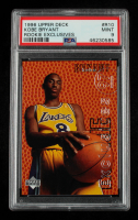 Kobe Bryant 1996-97 Upper Deck Rookie Exclusives #R10 (PSA 9) at PristineAuction.com