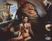 """Howie Hammerman Signed """"Star Wars: Return of the Jedi"""" 8x10 Photo Inscribed """"Jabba's Burp"""" (Beckett COA) at PristineAuction.com"""