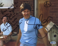 """Jon Gries Signed """"Napoleon Dynamite"""" 8x10 Photo Inscribed """"How Much You Wanna Make a Bet I Could Throw a Football Over Them Mountains"""" (Beckett COA) at PristineAuction.com"""