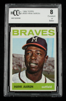 Hank Aaron 1964 Topps #300 (BCCG 8) at PristineAuction.com