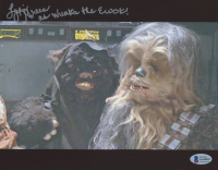 """Lydia Green Signed """"Star Wars: Return of the Jedi"""" 8x10 Photo Inscribed """"As Wunka the Ewok!"""" (Beckett COA) at PristineAuction.com"""