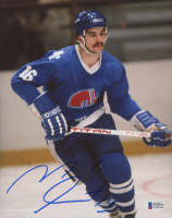 Michel Goulet Signed Nordiques 8x10 Photo (Beckett COA) at PristineAuction.com