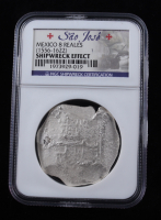 Sao Jose Shipwreck (1556-1622) Mexico Silver 8 Reales Coin (NGC Certified) at PristineAuction.com