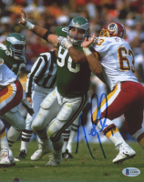 Mike Golic Signed Eagles 8x10 Photo (Beckett COA) at PristineAuction.com
