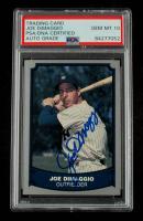 Joe DiMaggio Signed 1988 Pacific Legends I #100 (PSA Encapsulated) at PristineAuction.com