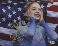 Gracie Gold Signed Team USA 8x10 Photo (Beckett COA) at PristineAuction.com