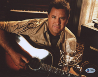 Vince Gill Signed 8x10 Photo (Beckett COA) at PristineAuction.com