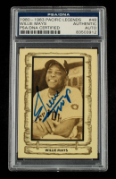 Willie Mays Signed 1980-83 Pacific Legends #48 (PSA Encapsulated) at PristineAuction.com