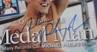 Michael Phelps Signed 2004 Sports Illustrated Magazine (PSA COA) at PristineAuction.com