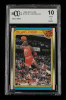Michael Jordan 1988-89 Fleer #120 AS (BCCG 10) at PristineAuction.com