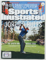Jordan Spieth Signed 2015 Sports Illustrated Magazine (PSA COA) at PristineAuction.com