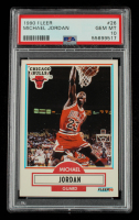 Michael Jordan 1990-91 Fleer #26 (PSA 10) at PristineAuction.com