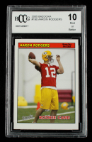 Aaron Rodgers 2005 Bazooka #190 RC (BCCG 10) at PristineAuction.com