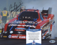 Courtney Force Signed NHRA 8x10 Photo (Beckett COA) at PristineAuction.com
