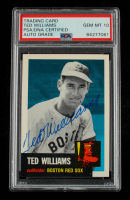 Ted Williams Signed 1991 Topps Archives '53 #319 (PSA Encapsulated) at PristineAuction.com