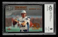 Tom Brady 2000 Metal #267 RC (BCCG 9) at PristineAuction.com