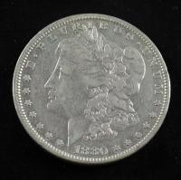 1880 Morgan Silver Dollar at PristineAuction.com
