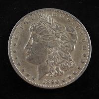 1890 Morgan Silver Dollar at PristineAuction.com