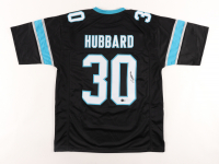 Chuba Hubbard Signed Jersey (Beckett Hologram) at PristineAuction.com