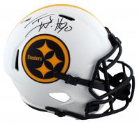 T.J. Watt Signed Steelers Full-Size Lunar Eclipse Alternate Speed Helmet (Beckett Hologram) at PristineAuction.com