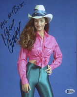 """Mary Crosby Signed 8x10 Photo Inscribed """"All My Best"""" (Beckett COA) at PristineAuction.com"""