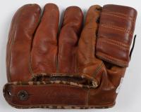 "Carl Erskine Signed Spalding Baseball Glove Inscribed ""Dodgers"" (Beckett COA) (See Description) at PristineAuction.com"