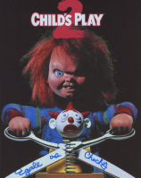 """Ed Gale Signed """"Child's Play 2"""" 8x10 Photo Inscribed """"as Chucky"""" (AutographCOA COA) at PristineAuction.com"""